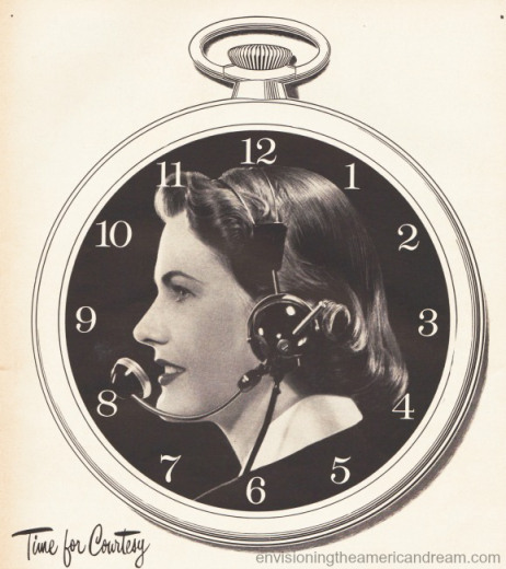 Bell Telephone Ad 1940