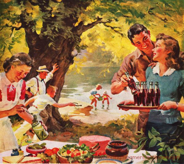 Vintage Coke Ad 1946