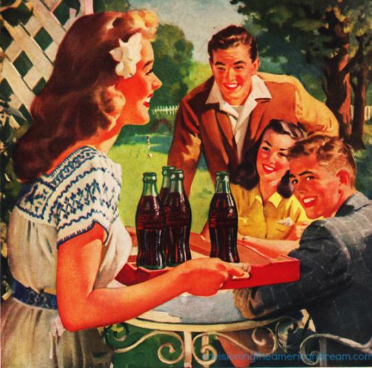 Coke Ad - 1948