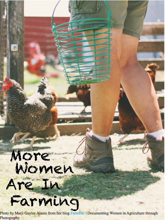More Women Are in Farming