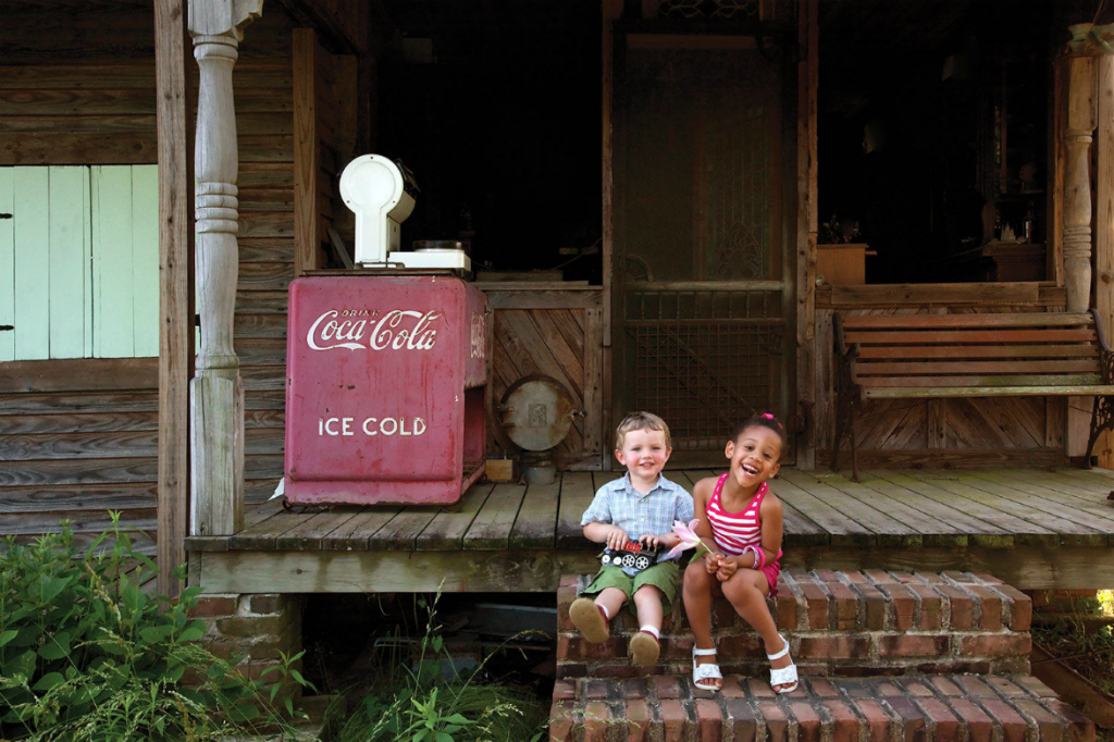 Beautiful Children in Rural Alabama