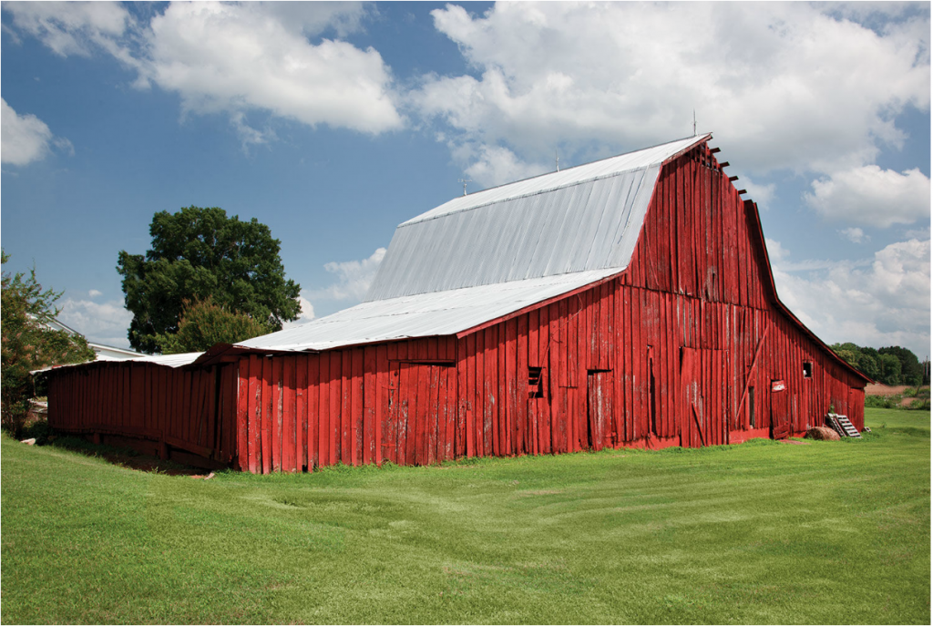 Red Barn in Alabama