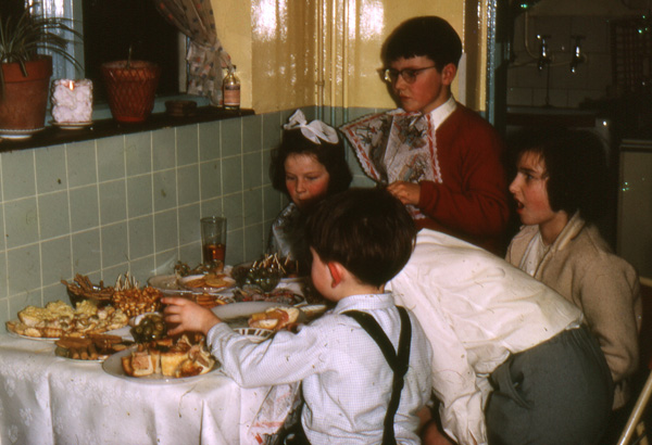 Children at The Littlest Table