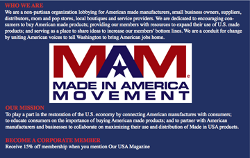 Made in America Movement