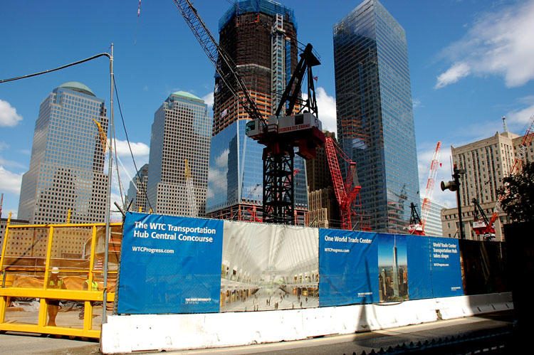 Construction at the WTC