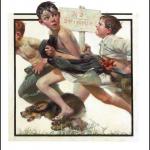 No Swimming - Saturday Evening Post - 1921